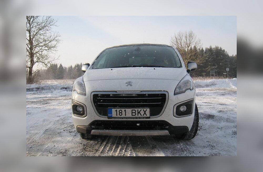 """PROOVISÕIT: Peugeot 3008 - prantsuse """"kiiksuga"""" praktiline sõiduriist"""