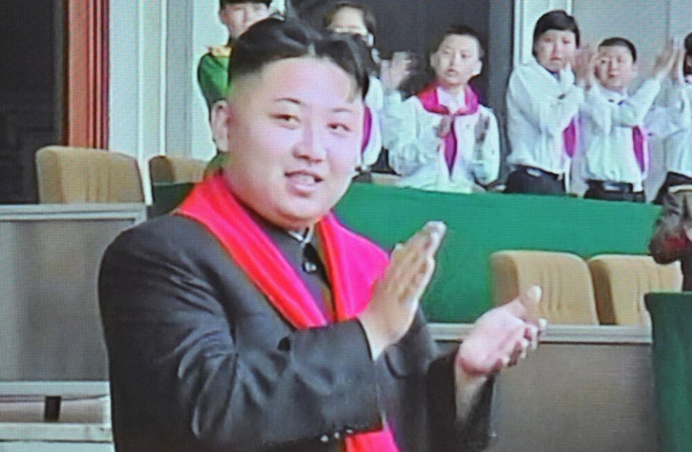 Kim Jong-uni tuumakatsetus pani mäed liikuma