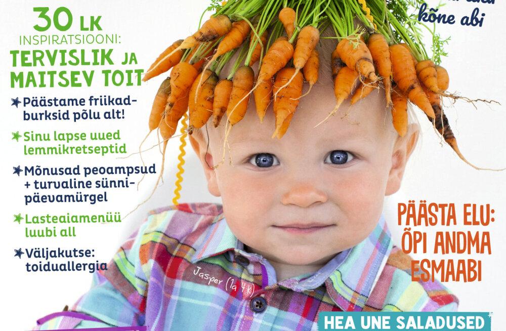 FOTOD | Nii sündis uue ajakirja Meie Lapse Tervis lustakas kaanepilt