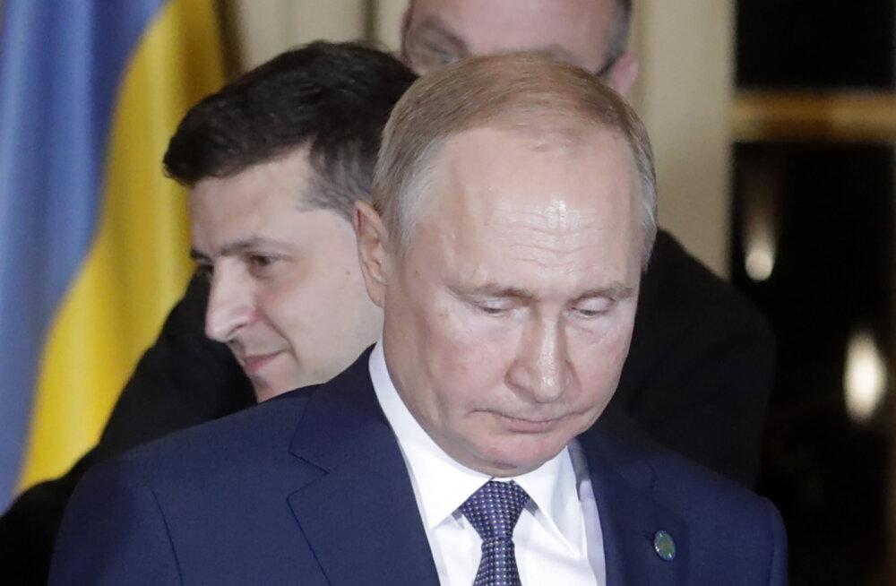 Zelenskõi kohtumine Putiniga kestis ainult veerand tundi