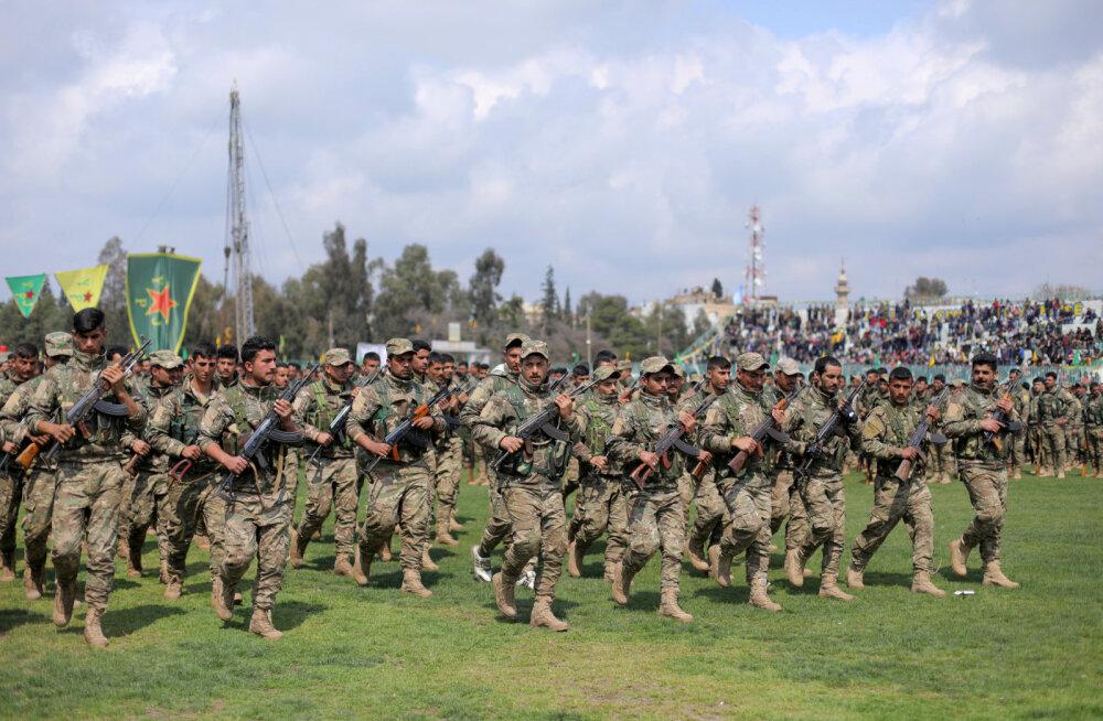 Süüria kurdide juhtkond tegi Türgi sissetungi eel üldmobilisatsiooni üleskutse