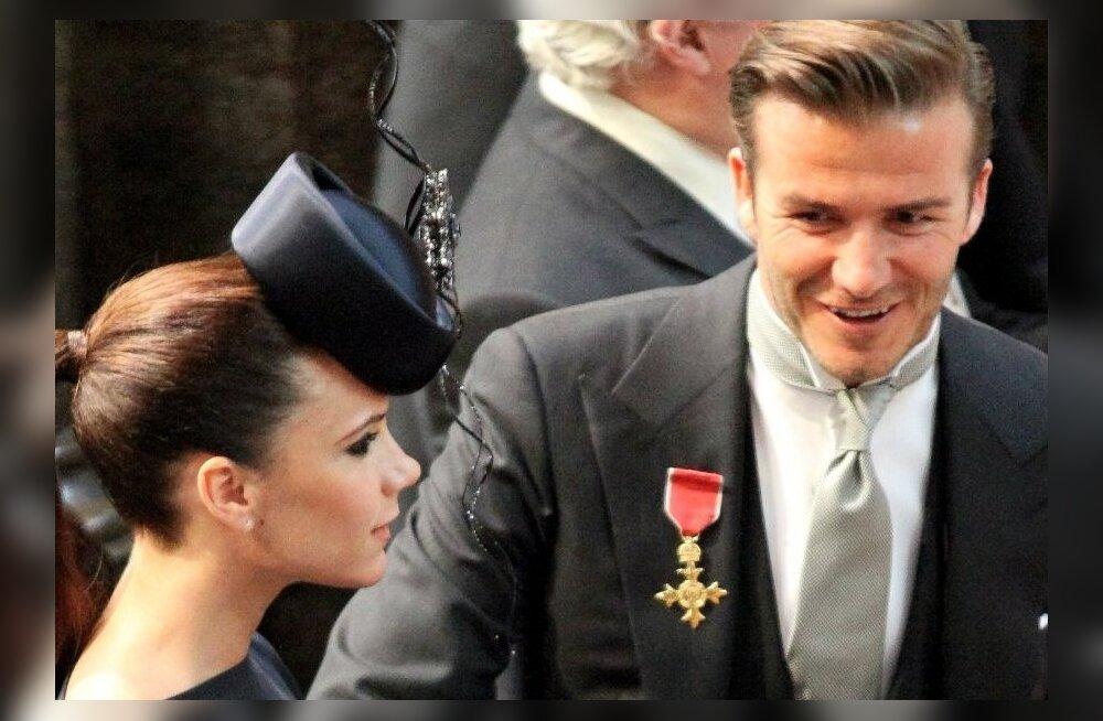 David ja Victoria Beckham pulmas