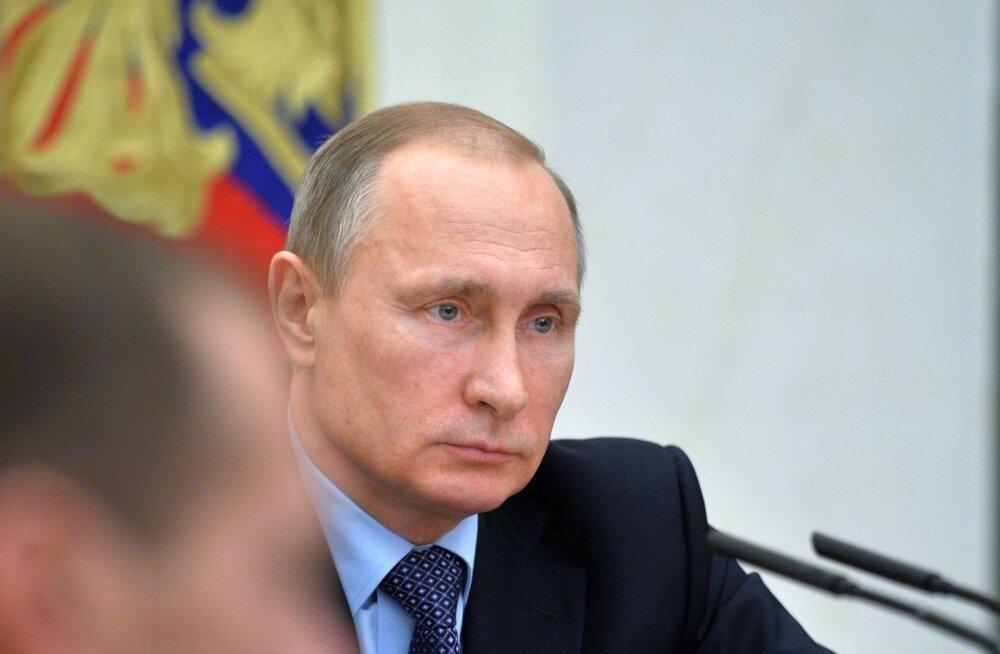 Putin: kõik venelasi ähvardavad jõud Süürias tuleb kohe hävitada