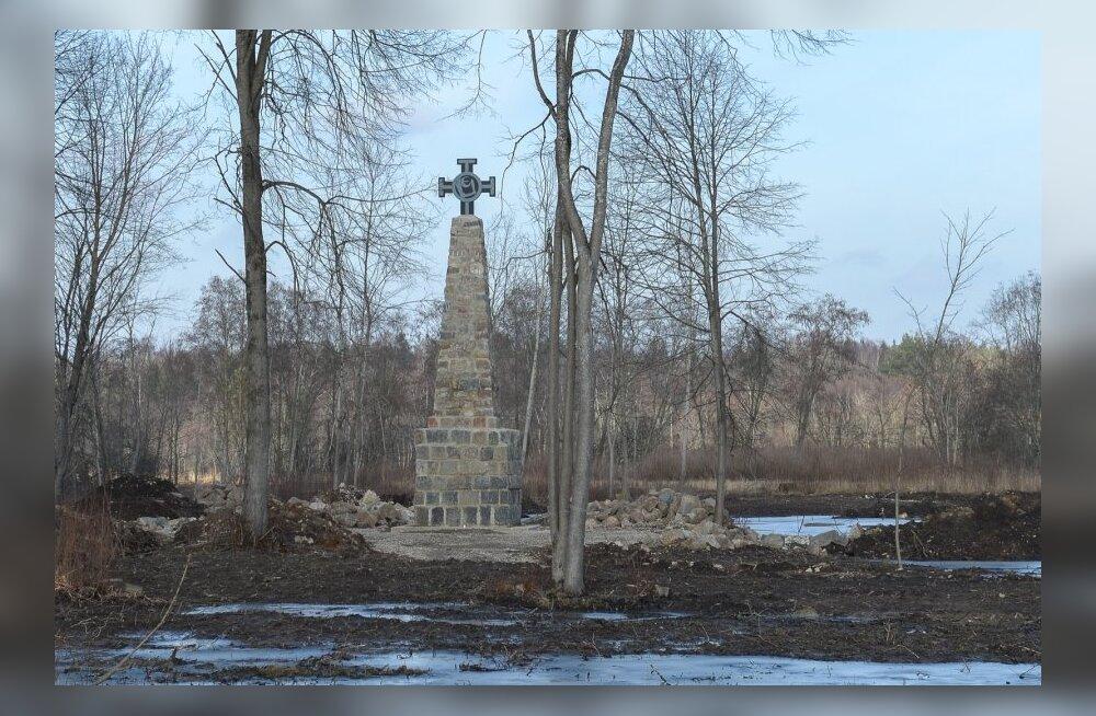 Vabadussõja mälestussammas Riigikülas