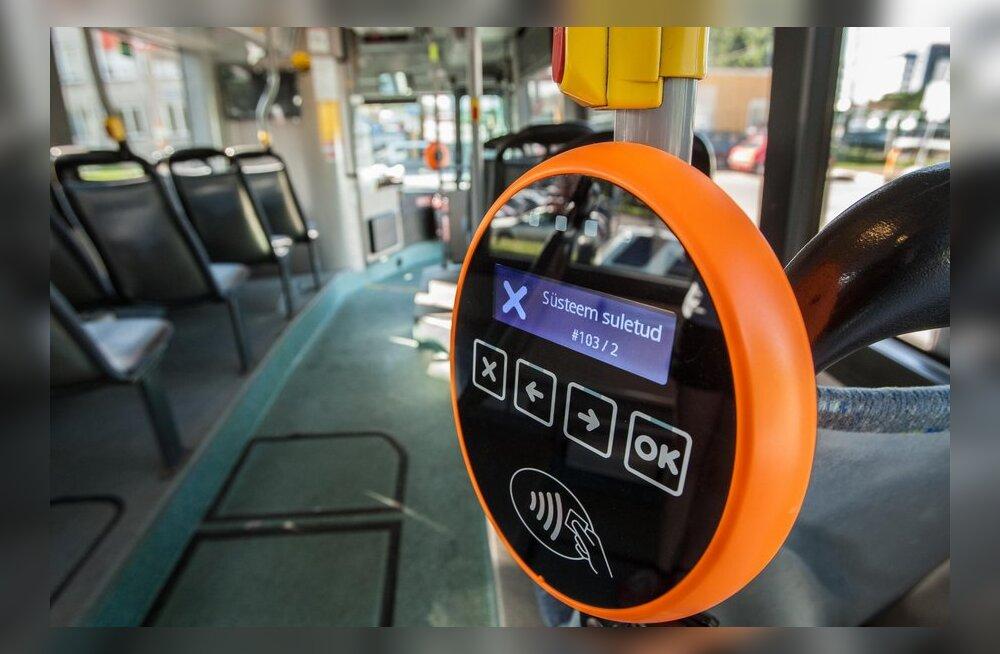 SEE ONGI VALIDAATOR: Sõiduõigus või e-pilet tuleb valideerida igal sisenemisel ühissõidukisse, viibutades kaarti validaatori ees.Validaatori sinine tuli – viibuta kaarti.Validaatori roheline tuli – pilet on aktiveeritud.