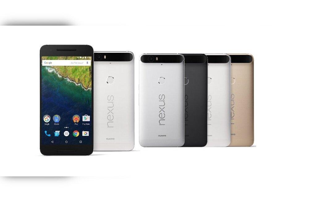 Huawei Nexus 6P — preemium klassi telefon