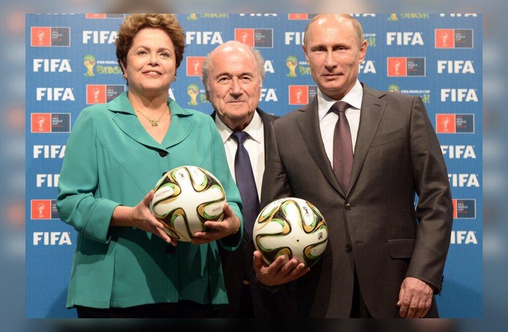 Venemaa kulutab jalgpalli MM-ile kahe aastaga 39 miljardit rubla