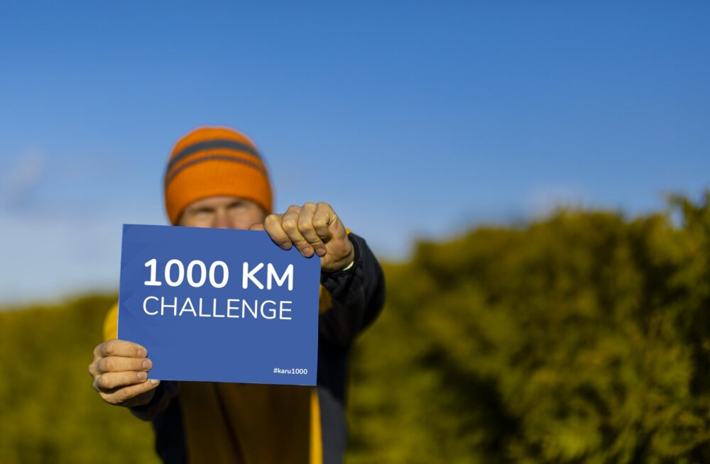 Eesti alpinist alustab väljakutset: 31 päeva jooksul tuleb kõndida 1000 kilomeetrit