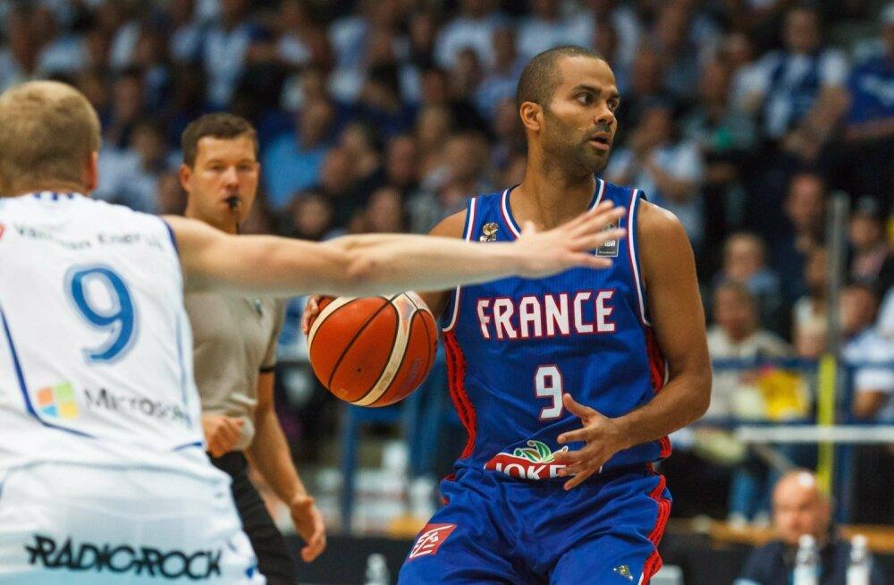 Soome korvpallikoondis, Prantsusmaa korvpallikoondis