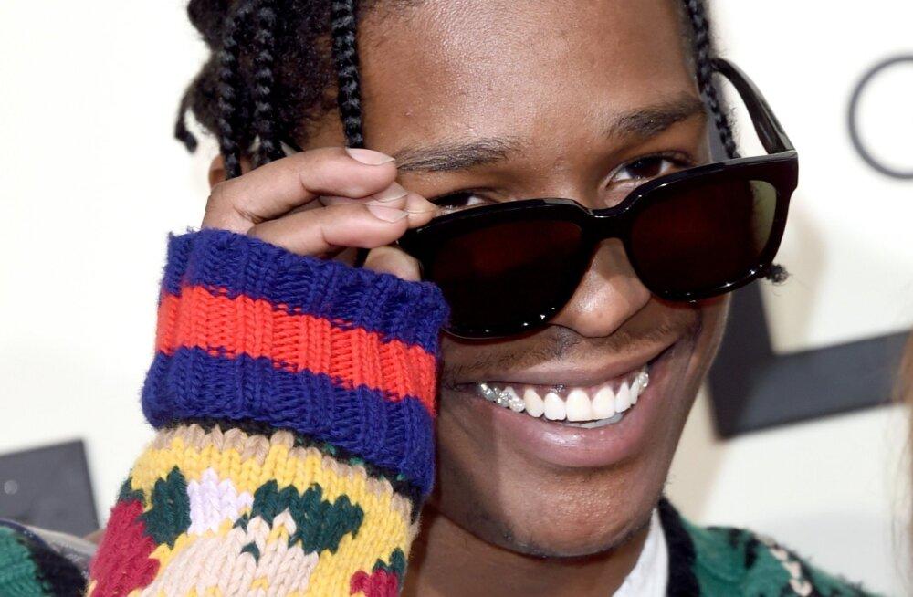 Marus fänn! Politsei vahistas naise, kes ähvardas räppar A$AP Rocky pärast Rootsi saatkonna õhku lasta