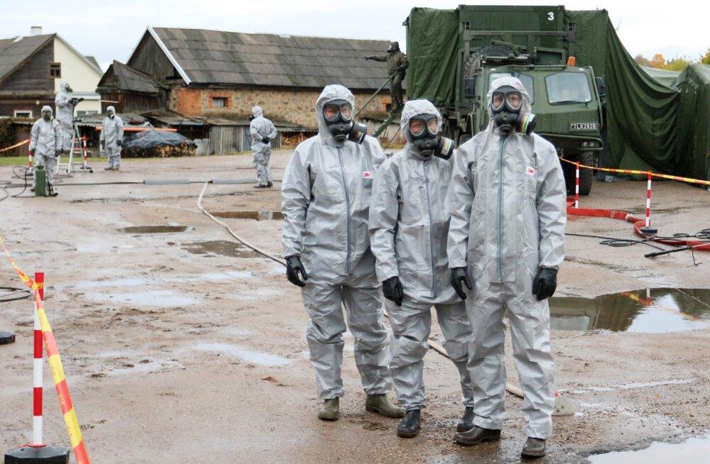 В Литве проходят учения на случай аварии на Белорусской АЭС