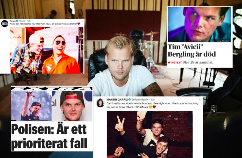 Rootsi muusik Avicii suri 28-aastasena