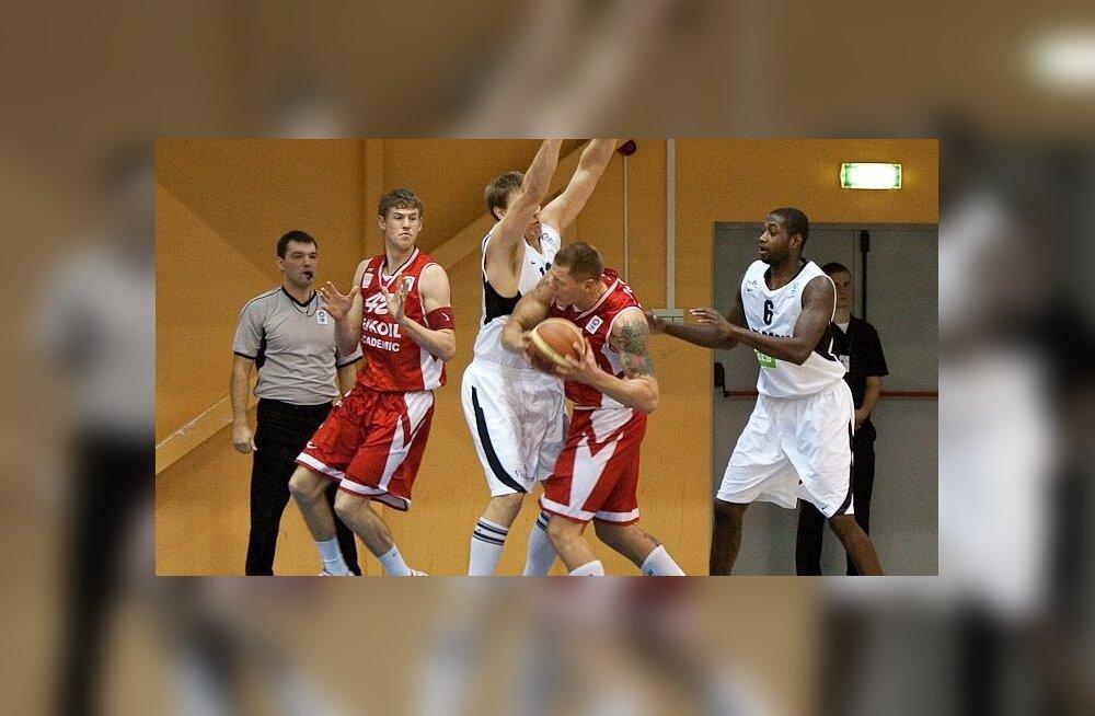 Korvpalli eurosarjas, kus osales TÜ/Rock, selgusid finalistid