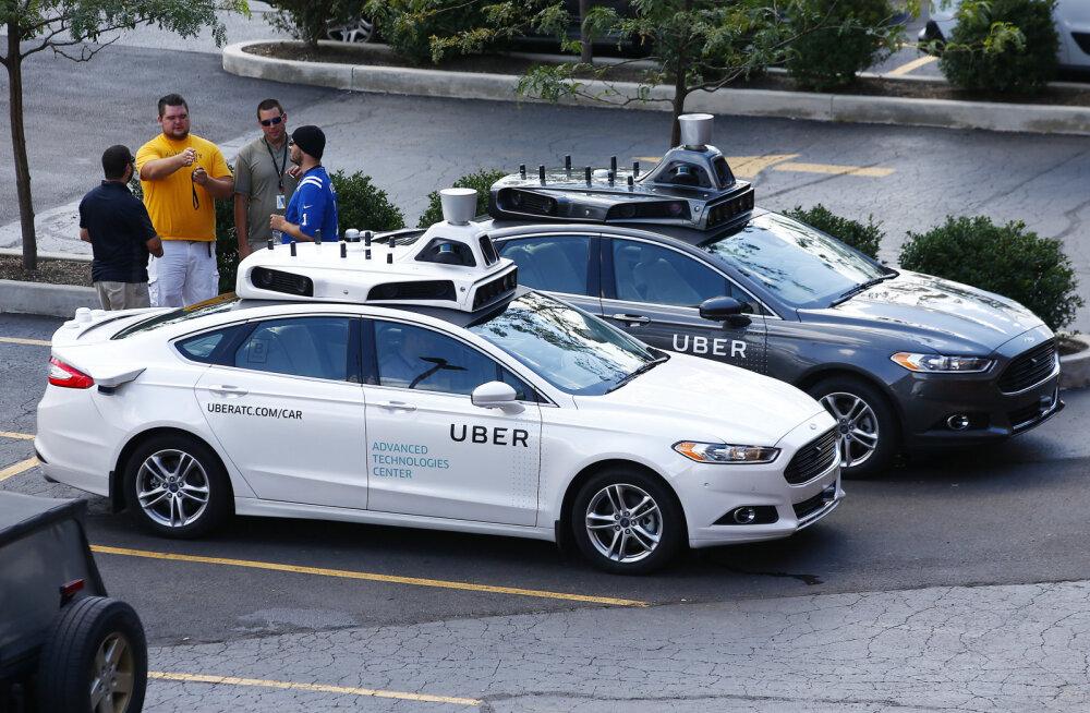 Uber hakkab sel kuul kasutama isesõitvaid autosid