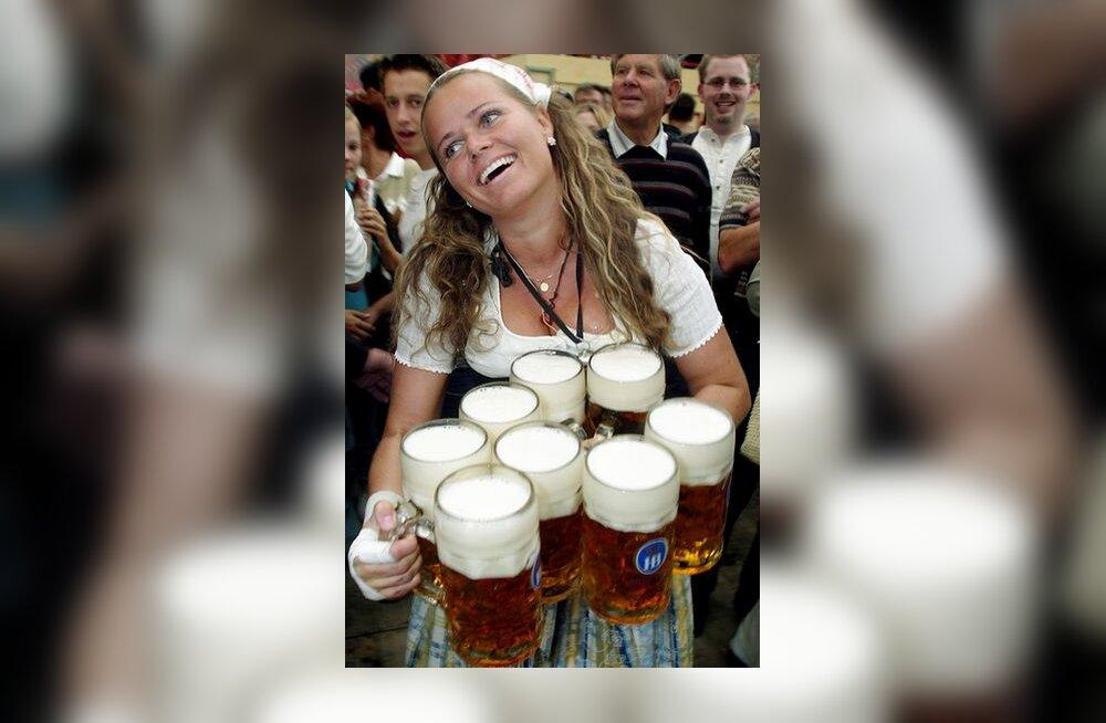 Ettekandja Baieris Oktoberfestil
