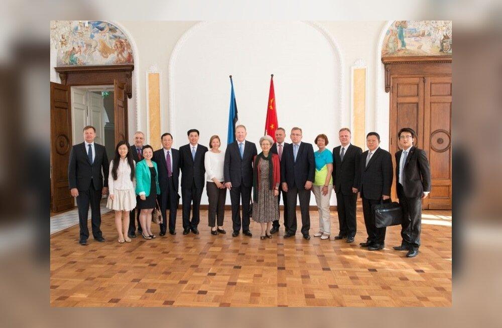 Kohtumine Hiina Rahvavabariigi Rahvakongressi väliskomisjoni esimehe Fu Yingiga ja delegatsiooniga