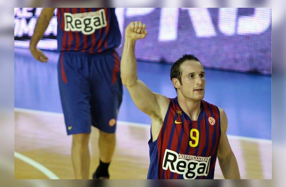 Regal Barcelona mängujuht Marcelinho Huertas