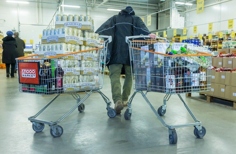 Alkoholi impordi lubatav kogus Lätist