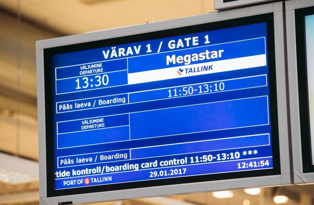 Tallink Megastari esimene väljumine