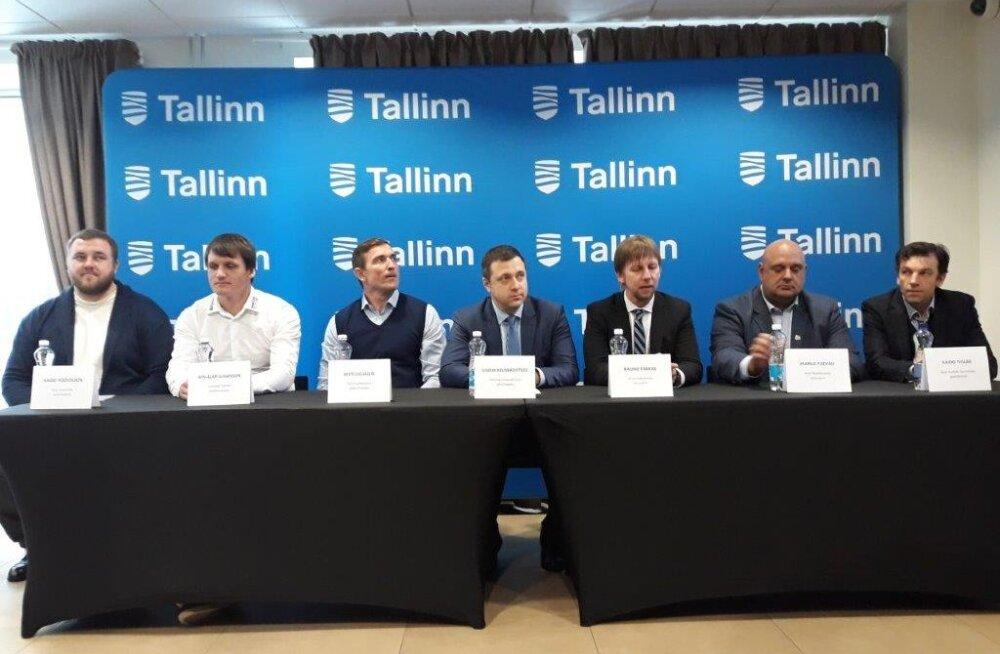 Tallinna Spordi- ja Noorsooameti pressikonverents