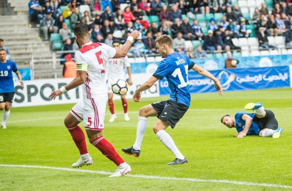 Jalgpall. Eesti vs Maroko