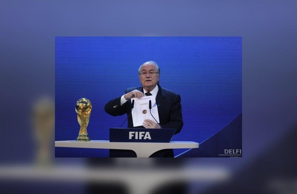 fd595efb42d 2018. aasta jalgpalli MM toimub Venemaal, 2022. aastal Kataris - Sport