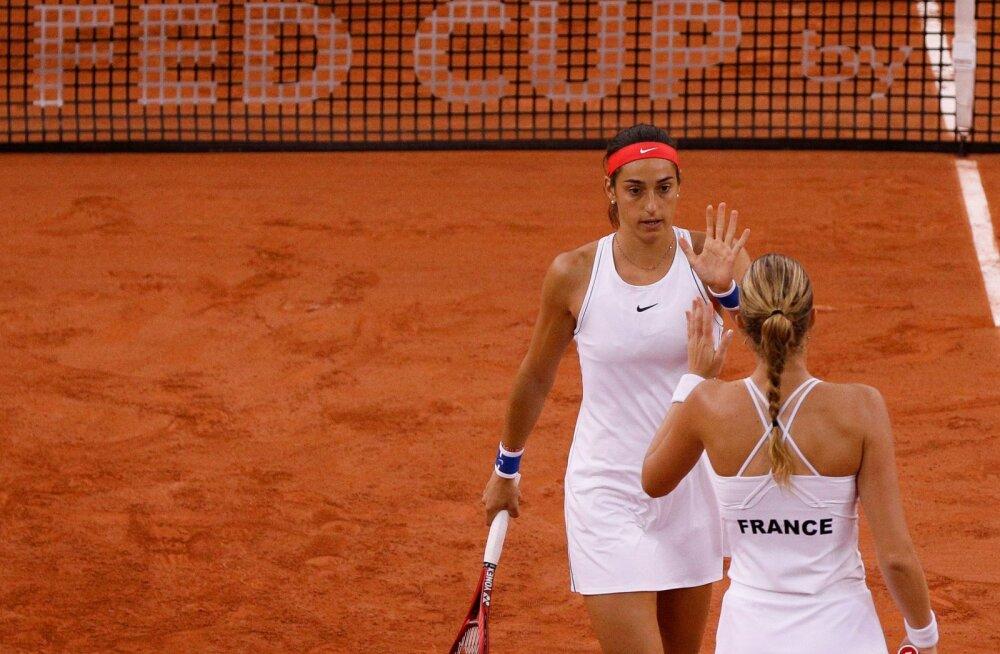 VIDEO | Kontaveidi homne vastane aitas Prantsusmaa naiskonna Fed Cupi finaali