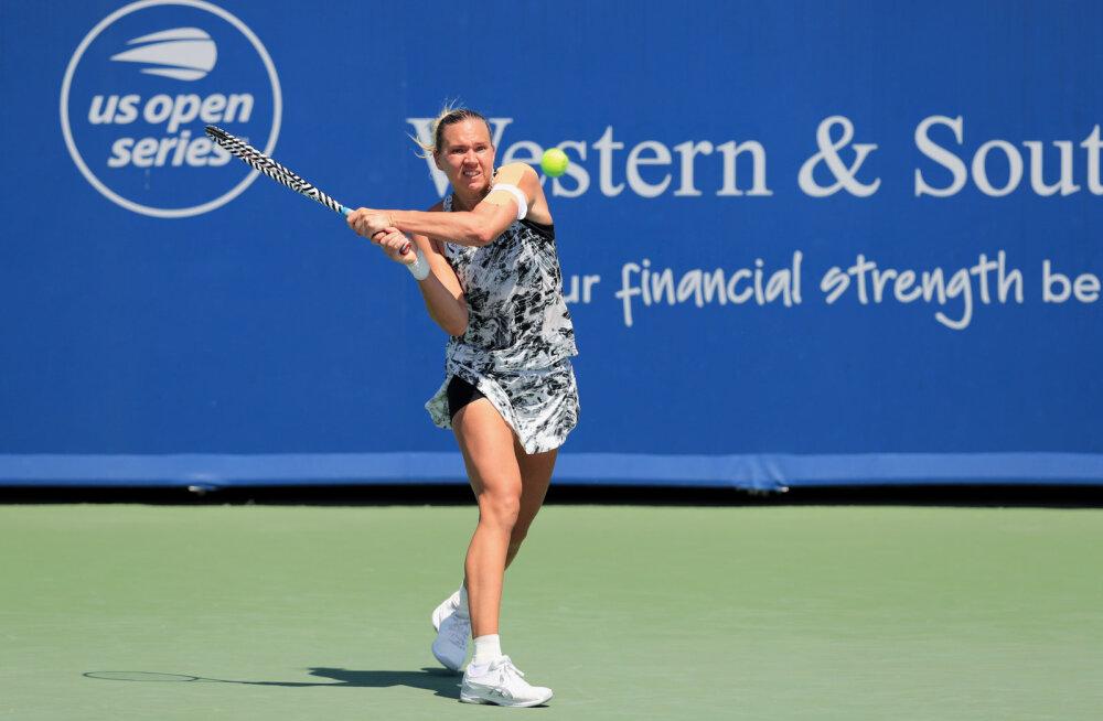 Kaia Kanepi alistas Bronxi turniiri kvalifikatsioonis tuntud kanadalanna