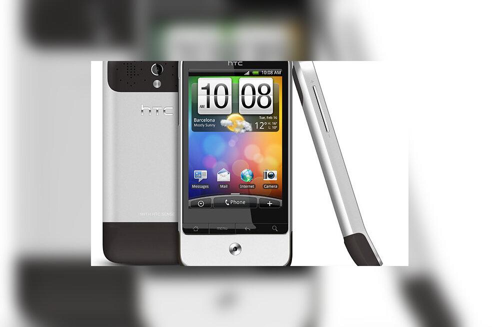 HTC Legend: kaunis nutitelefon, mis inspireeris tundmatut koomikut