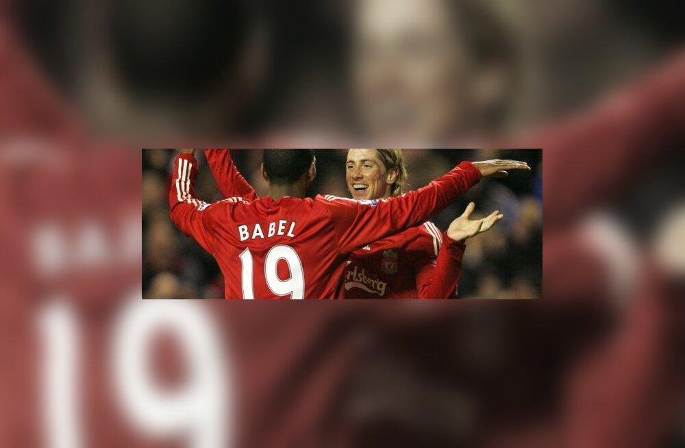 Ryan Babel & Fernando Torres