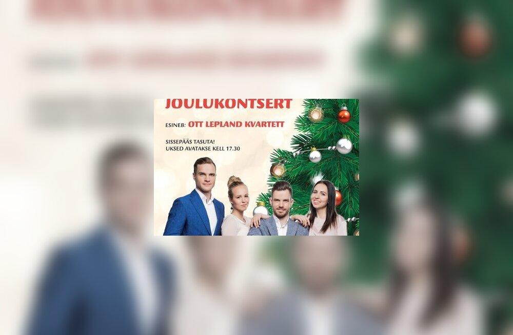 Завтра состоится рождественский концерт управы района Кристийне