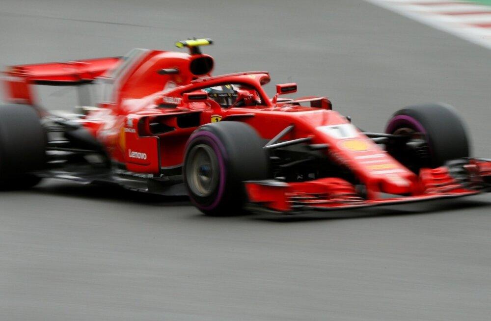 Kimi Räikkönen Aserbaidžaanis.