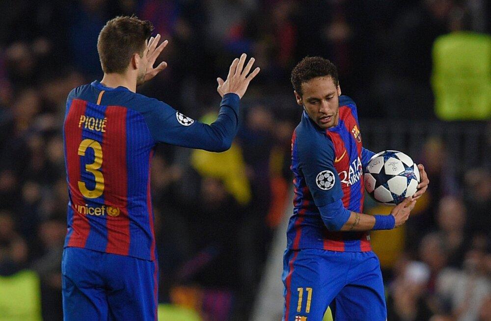 Barcelona tähtmängija Neymari võimalikust naasmisest: ta peab ise rääkima hakkama