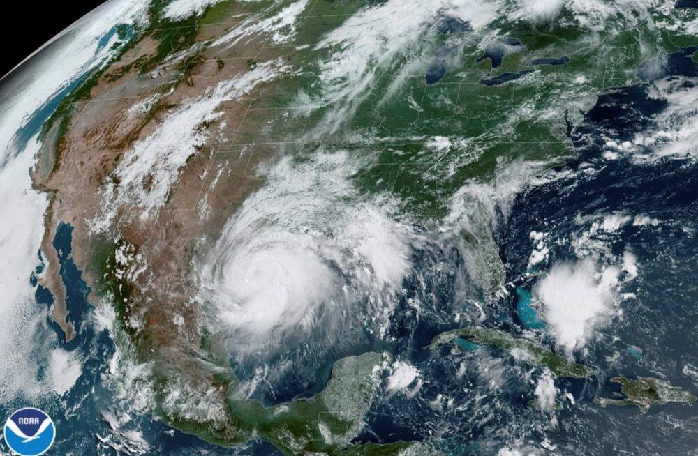 USA Texase osariiki raputab keset koroonaviiruse epideemiat orkaan Hanna