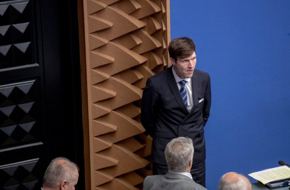 Eelarvearutelu Riigikogus
