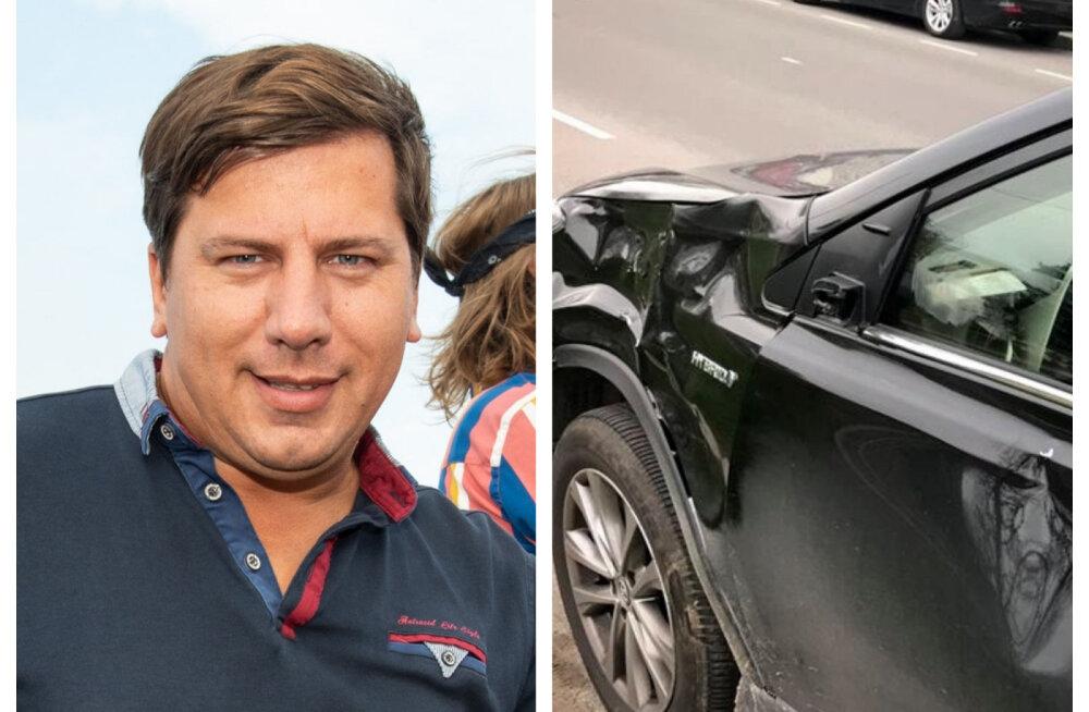 Põder ja põmakas! Fotograaf Ardo Kaljuvee sattus maanteel liiklusõnnetusse