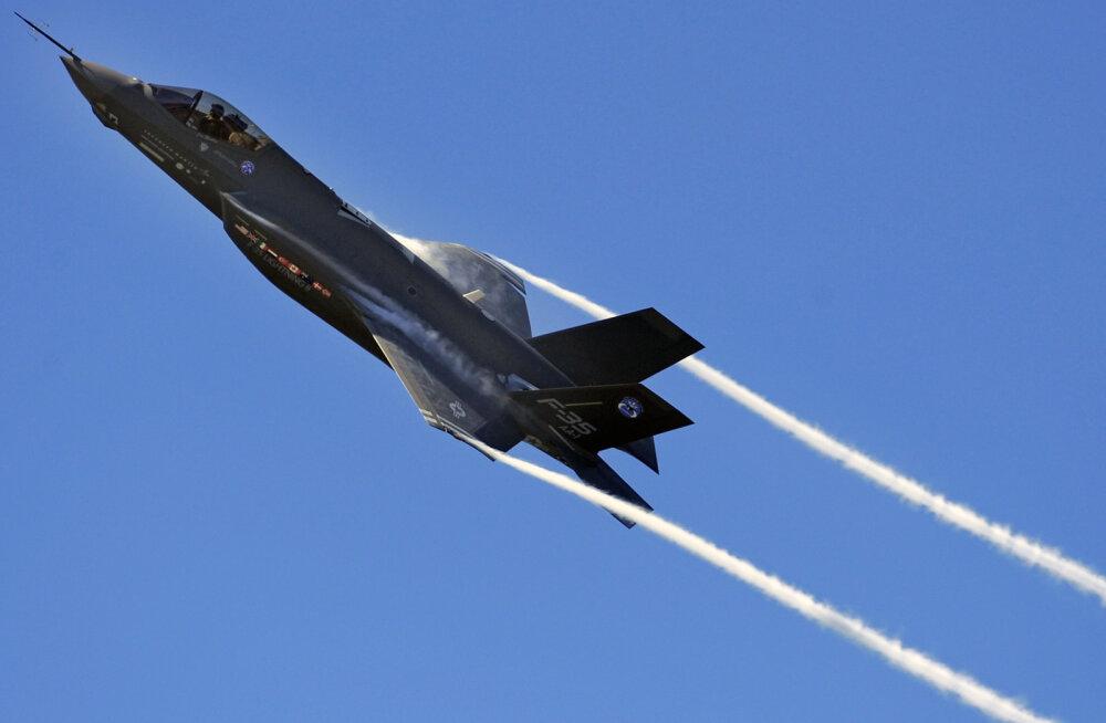 USA sõjaväe triljoni-dollari-reaktiivhävitaja F-35 osutus pea lennuvõimetuks