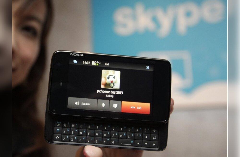Skype võib saada Nokia telefonide peamiseks müügiargumendiks