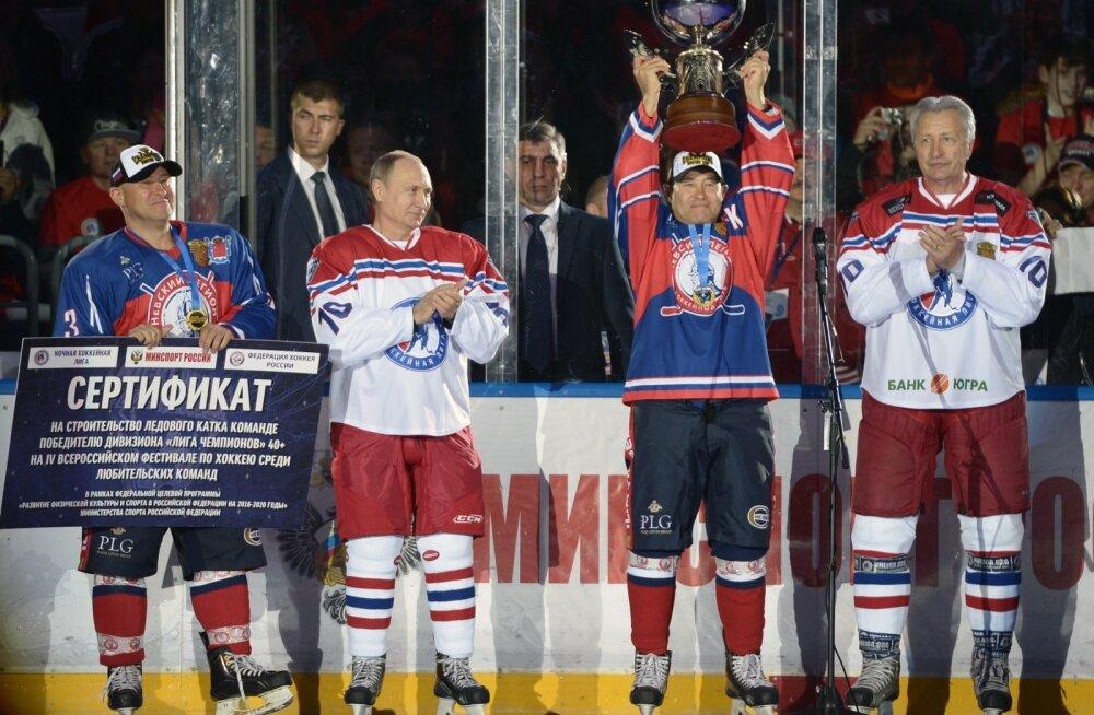 Vladimir Putin, jäähoki