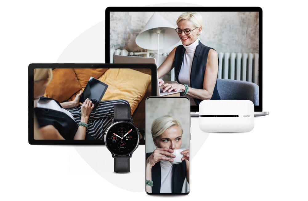 Nipp ärikliendile: jaga oma mobiilset internetti eri seadmete vahel