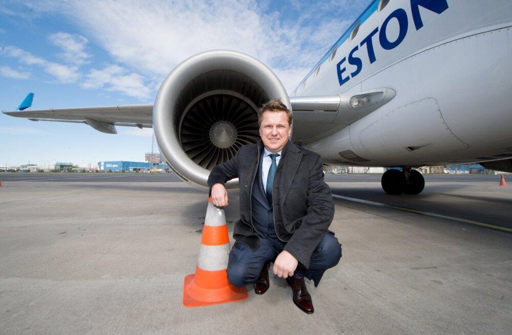 Ain Hanschmidt kinnitab, et Tallinnki omanike huvi Estonian Airi vastu on veel alles, kuid Infortar ootab riigi poolt selgemaid seisukohavõtte.