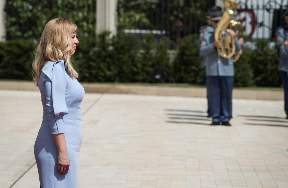 Slovakkia esimene naispresident vannutati ametisse