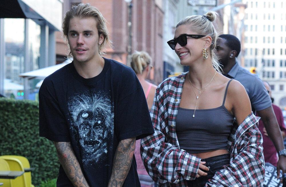 KLÕPS | Palju õnne! Justin Bieber ja tema tippmodellist väljavalitu pidasid maha suure pulmapeo