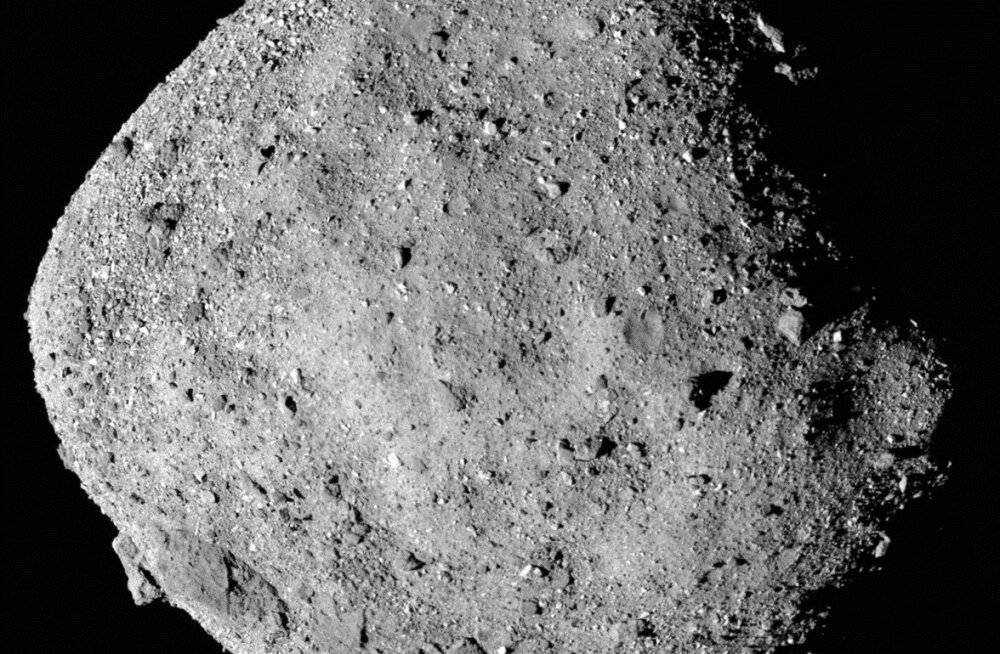 NASA sond tegi Bennul esimese üllatava avastuse