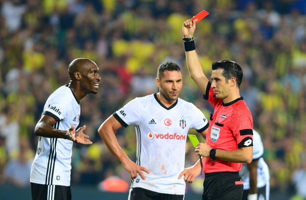 Saksamaa ja Eesti mängu teenindavad Türgi kohtunikud