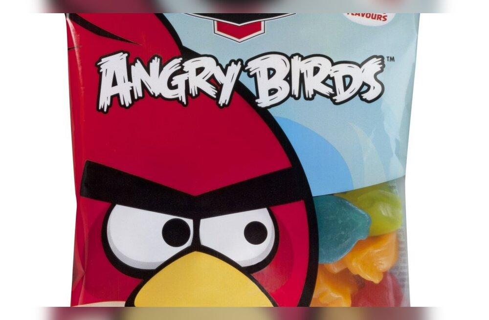 Конфеты Angry Birds в июне поступят в продажу в Эстонии