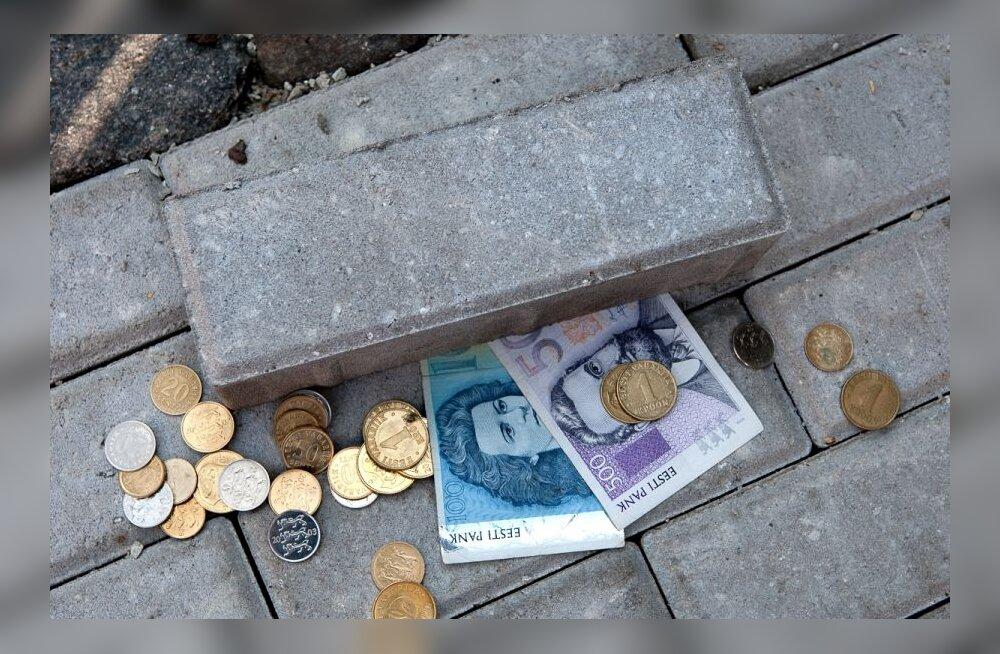 Kui raha on kivi all peidus...