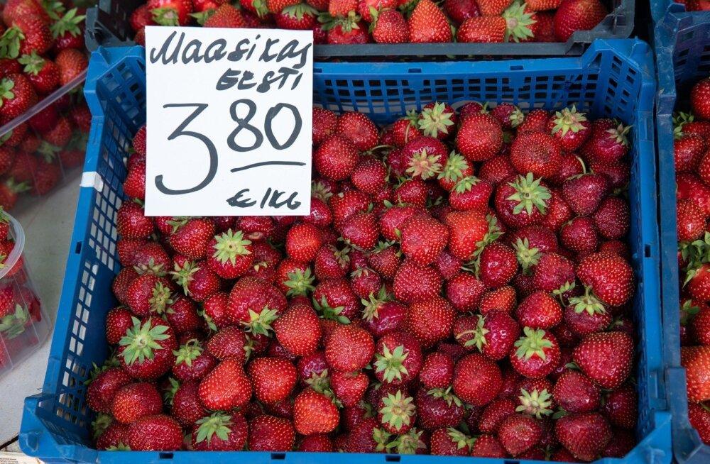 On kohalikud maasikad või mitte? Seda kontrollitakse pisteliselt.