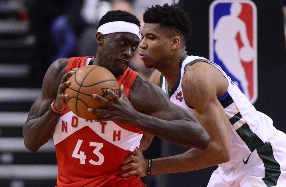 VIDEO | Bucks alistas Raptorsi, Sixers võõrsil Warriorsi, LeBron naasis platsile