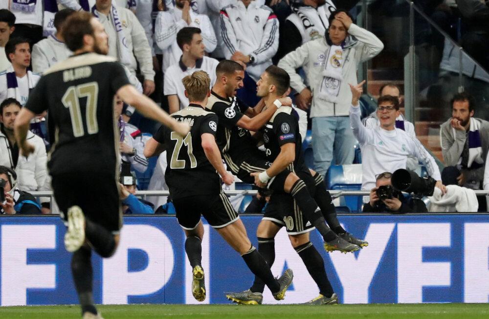 Ajaxi mehed rõõmustavad
